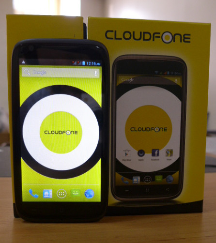 CloudFone Thrill 530QX, CloudFone