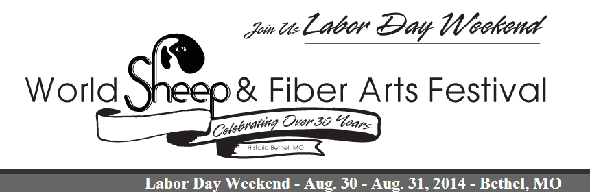 world sheep and fiber arts festival in bethel missouri