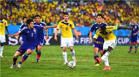اهداف مباراة اليابان و كولومبيا 1-4 || كأس العالم HD||