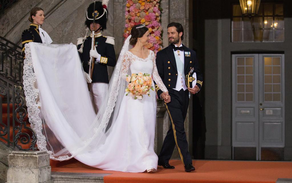 Micol Azzurro Matrimonio : Oggi sposi matrimonio carlo filippo di svezia e