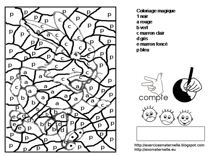 Maternelle patatras coloriage magique - Coloriage magique gs ...