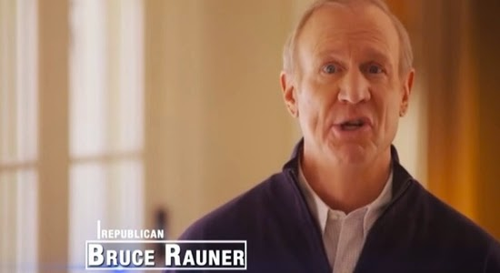 Photo Credit - Daily Kos- Illinois  Republican Governor Bruce Rauner