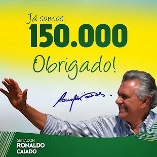 """RONALDO CAIADO SENADOR DOS DEMOCRATAS DE GOIÁS"""