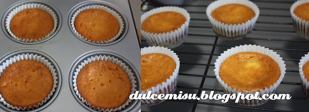 cupcake Dulcemisu reposteria creativa, sin azucar, sin gluten, platano, nuez