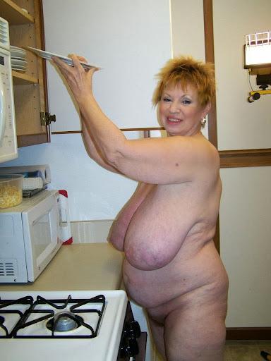 oma mit dickem fetten arsch