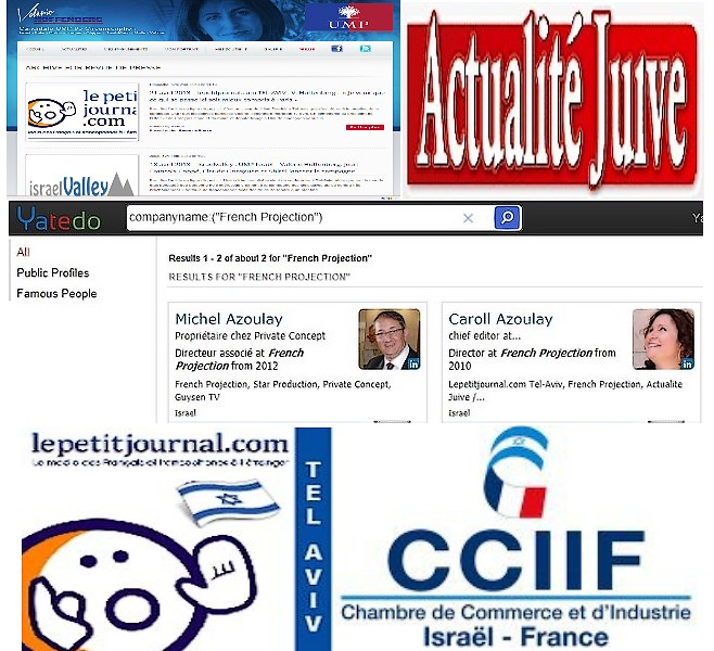 V ronique chemla r action de michel meir azoulay pour for Chambre de commerce france israel