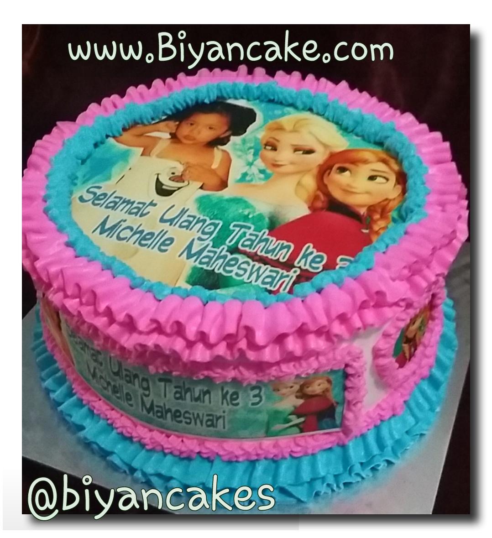 Cake Frozen ~ Michelle