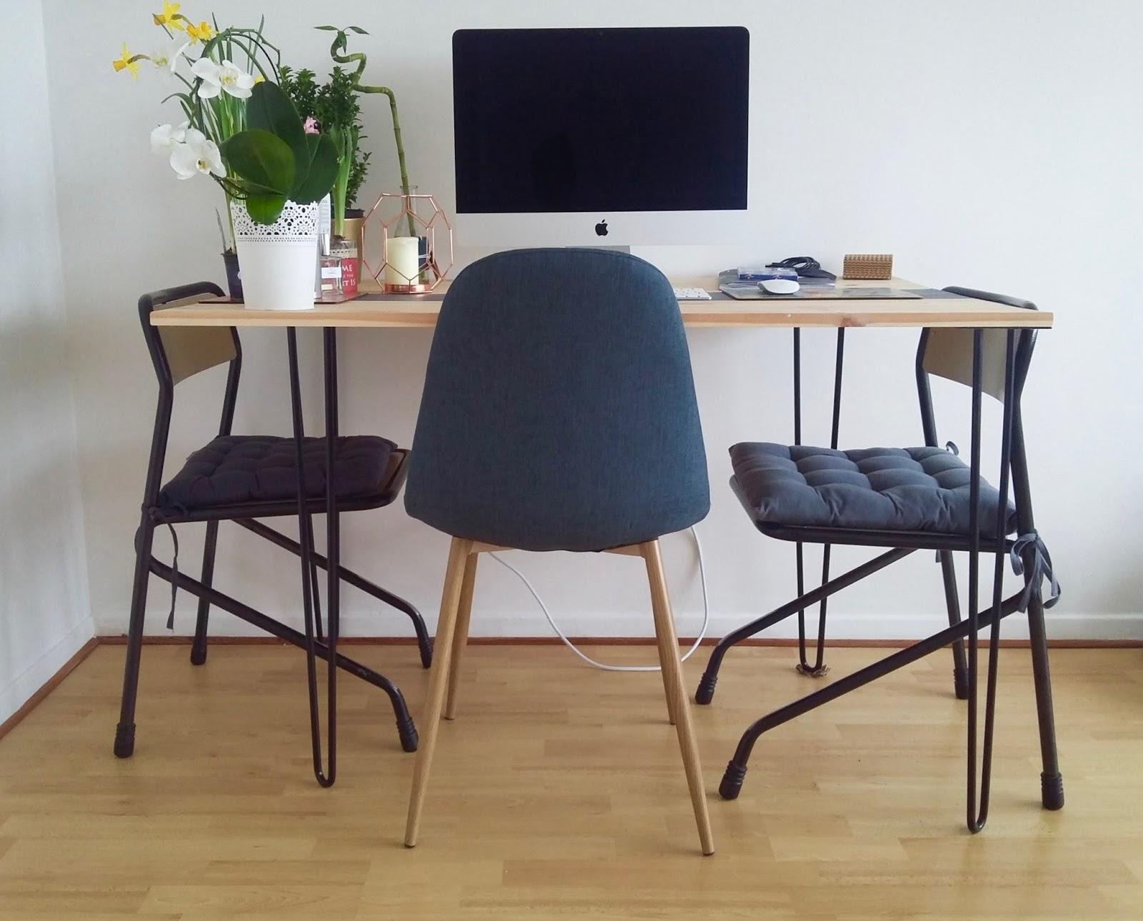 diy deco d fi 1 r aliser une table manger design pour 100 trop chic pas cher. Black Bedroom Furniture Sets. Home Design Ideas