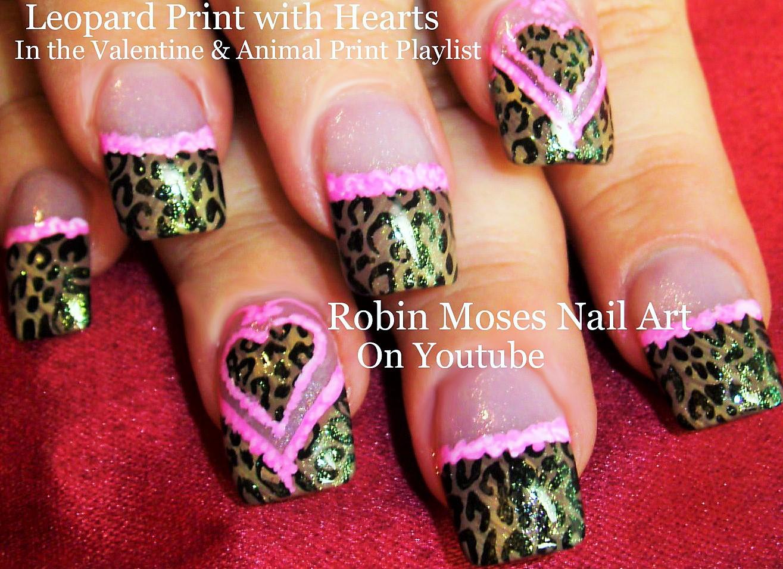 Robin moses nail art leopard print nails design tutorials fall animal print nail art playlist easy nail art tutorials diy zebra leopard tiger nail designs prinsesfo Choice Image