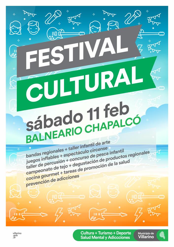 EL SÁBADO 11: FESTIVAL CULTURA EN CHAPALCÓ