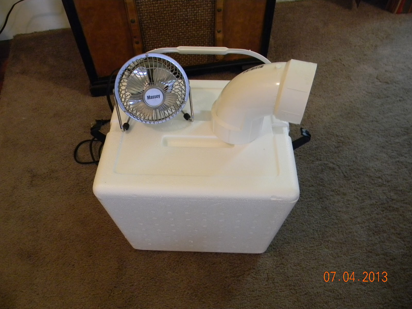 Diy Projects Swamp Cooler Icechest