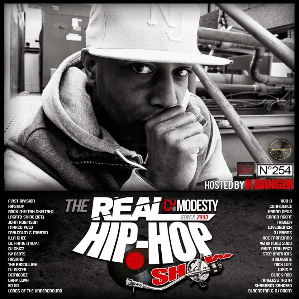 Dj Modesty The Real Hip hop show n254