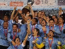 Uruguai campeão Copa América 2011