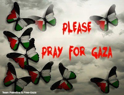 Wordless Wednesday Pray For Gaza