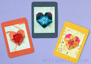 Origami Artist Trading Cards