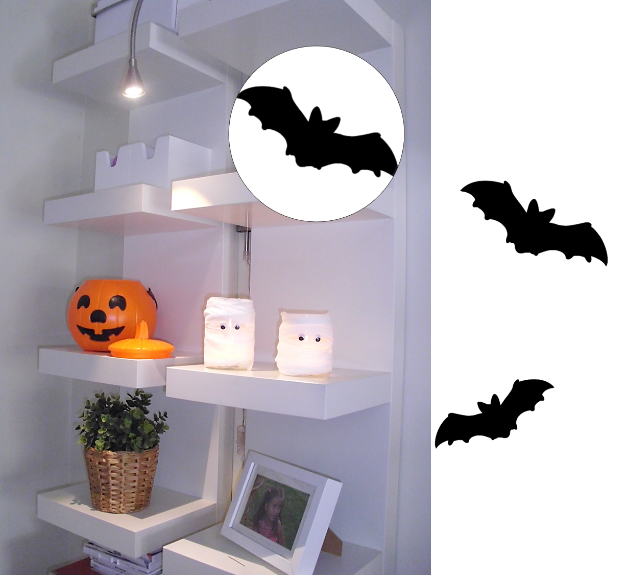 Diy Decoracion Halloween ~ Decoraci?n F?cil DIY PARA #HALLOWEEN EN DOS MINUTOS