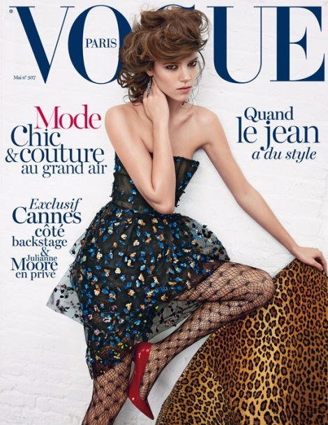 Freja Beha Erichsen Vogue Paris May 2013 Cover