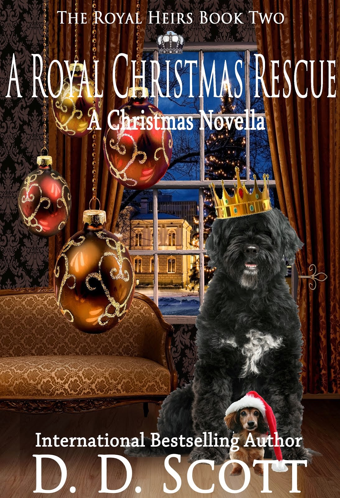 A Royal Christmas Rescue (The Royal Heirs Book 2)