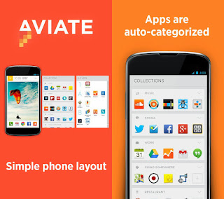 Aviate: Aplikasi Launcher Android Terbaik dengan Intellegent Homescreen