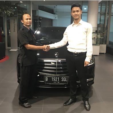 Delivery S 450 L a/n Bapak Gunanto