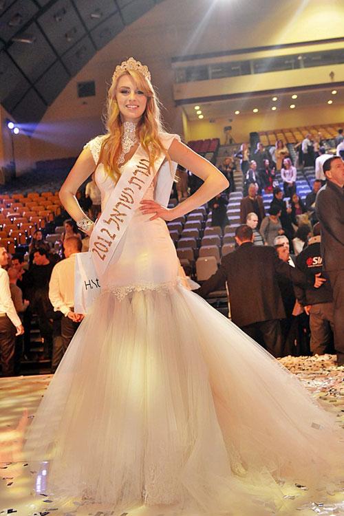 Lina Makhuli,Miss Universe Israel 2012