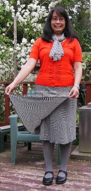 Pink Calico: Hypnotic Skirt