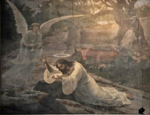 """""""Jesús en el Huerto de los Olivos"""""""