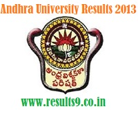 Andhra University 3rd Year Degree Advanced Supplementary Results 2013