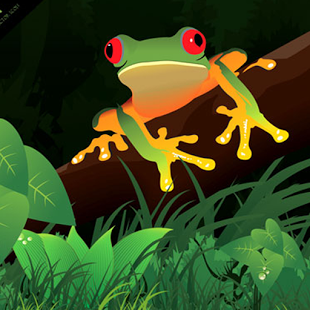 Anime Frog Wallpaper