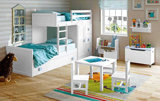 Camas bonitas para ni os - Camas dormitorios infantiles ...
