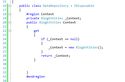 Data Repository in ASP.NET MVC 4