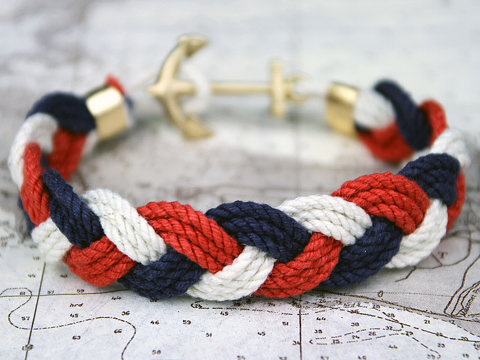 pulsera marinera, sailor rope