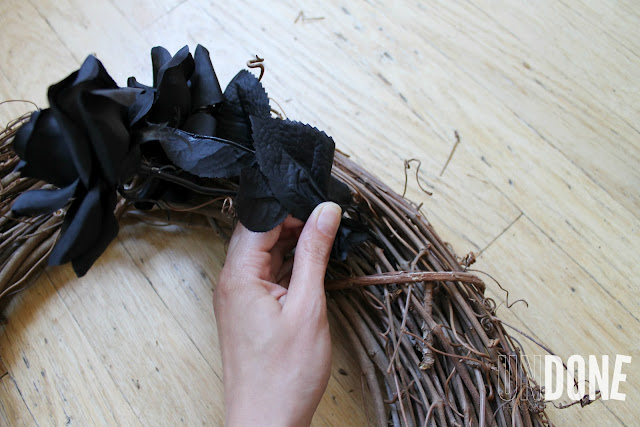 UNDONE: Easy DIY Halloween Wreath