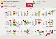 Calendari Trail Roquetes 2014