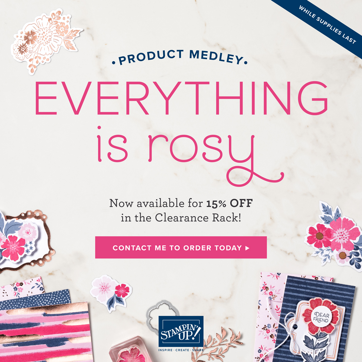 Everything is Rosy Clearance
