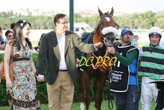 Con WILD KING (Derby winner).