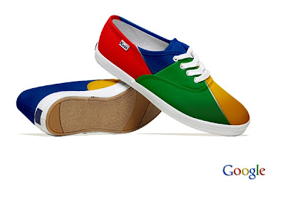 Google Buzz Shoes - Social Media Shoes