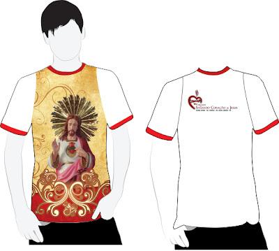 Camiseta oficial da festa do SCJ 2013 em Almino Afonso - RN