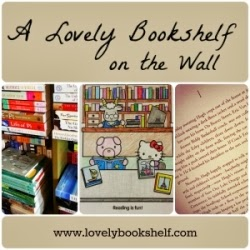 A Lovely Bookshelf on the Wall