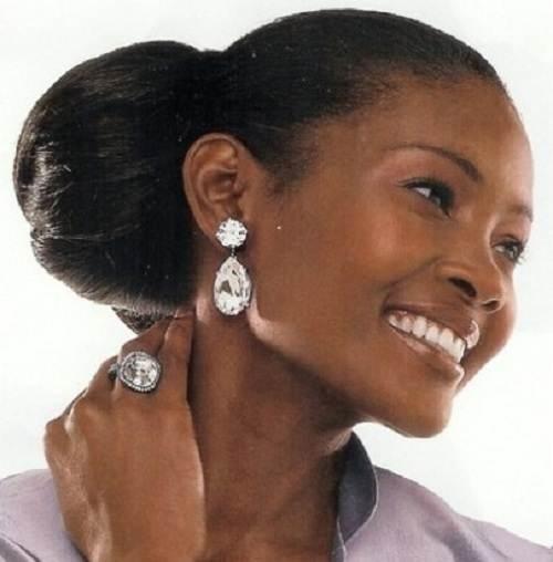 side bun hairstyles african