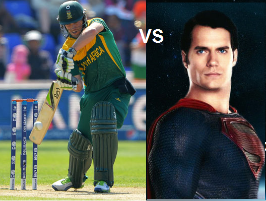 De Villiers is the new superman