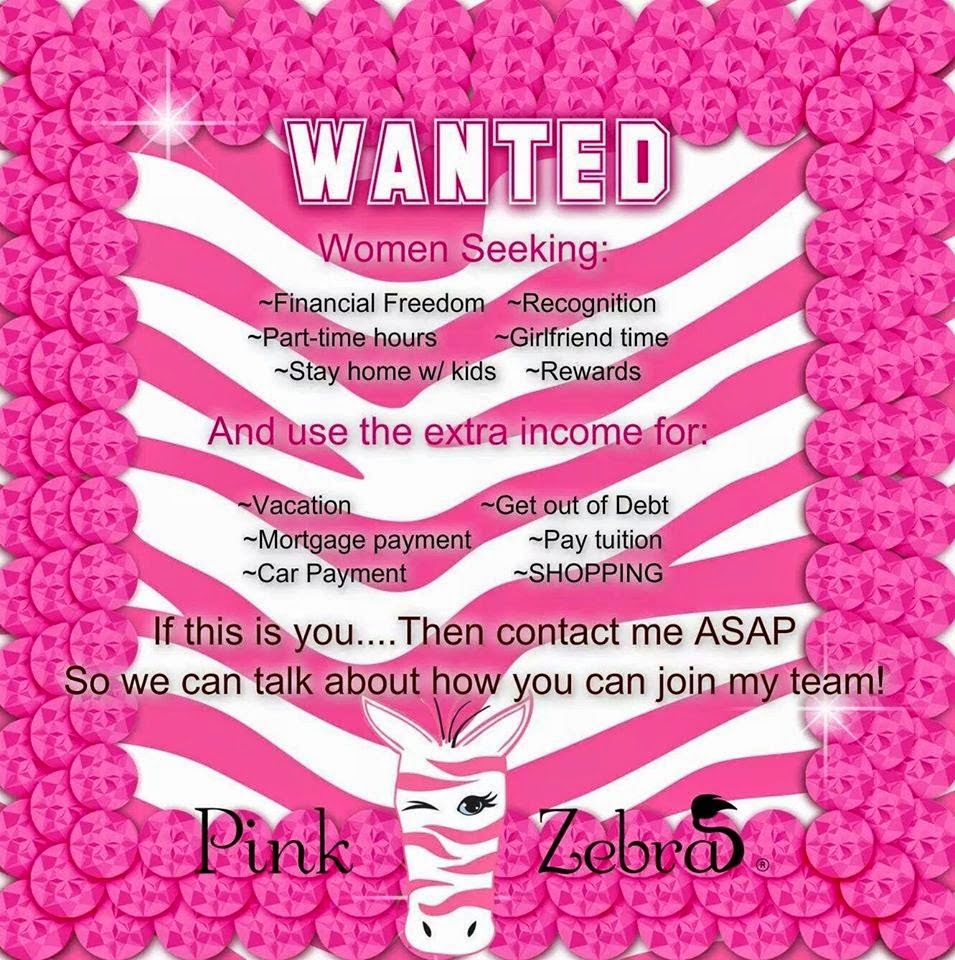 Pink Zebra consultants Kentucky Image pic