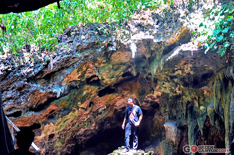 spot unik di Gua Lanang Pangandaran