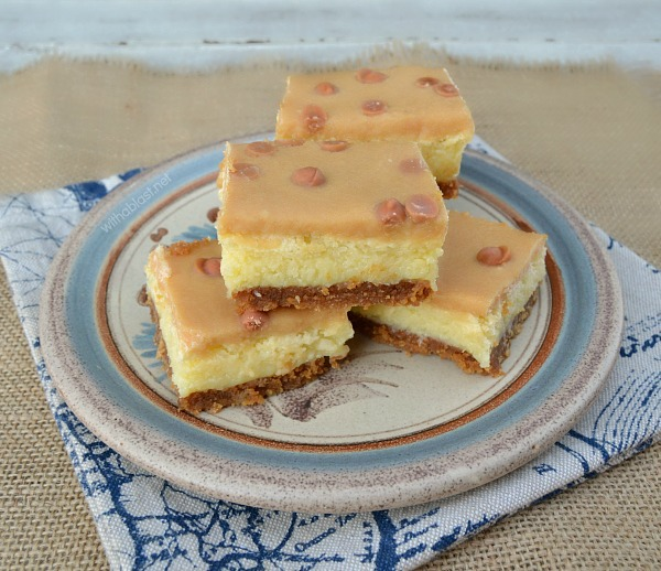 Caramel Coconut Bars