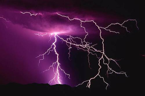 horns up rocks dozens of fans injured by a lightning bolt