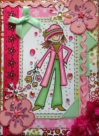 Helen's crafty card toppers for sale!
