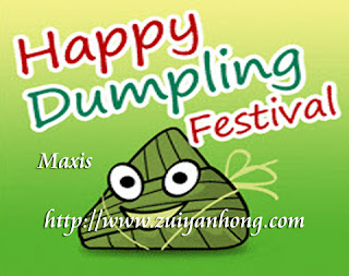 Maxis Rice Dumpling