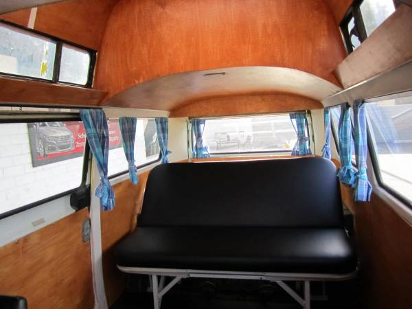 vw hightop camper bus  sale buy classic volks