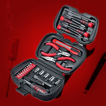 Bosch - Skil 25 Piece Mini Tool Set | Bosch Skil 26 Piece Mini Tool Set Online, India - Pumpkart.com