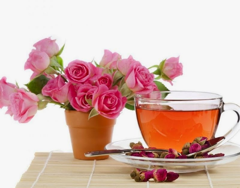The following are the health benefits attributed to rose petal tea: